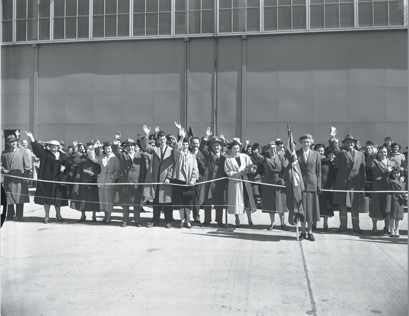 Arrival in Toronto. Source: GCHP Clara Thomas Archives Photographs
